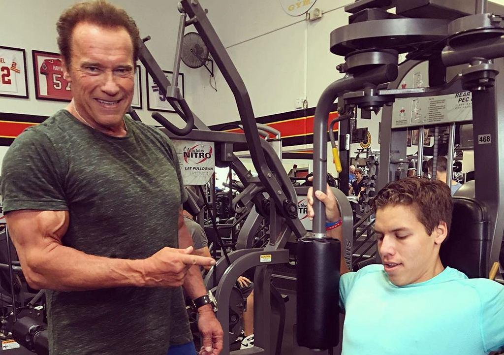 Joseph Baena - syn Arnolda Schwarzeneggera