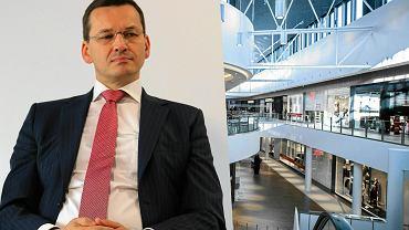 Minister Rozwoju Mateusz Morawiecki; Centrum Handlowe
