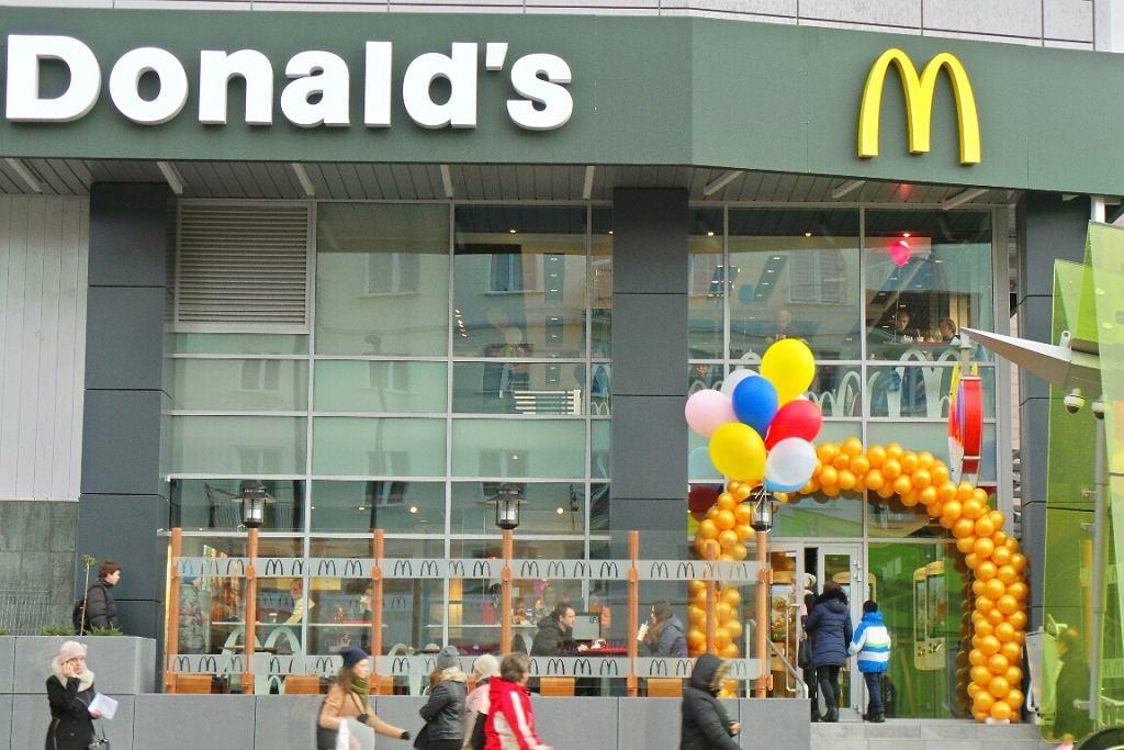 Otwarcie restauracji McDonald's