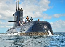 Zaginiony okręt podwodny 'San Juan' odnaleziony na dnie