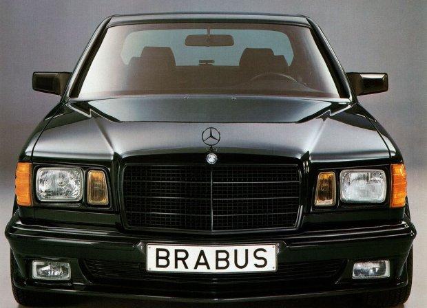 Mercedes W126 Brabus