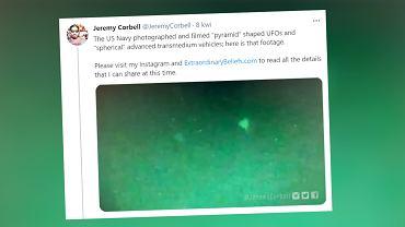 Pentagon potwierdził autentyczność kolejnego wideo z UFO
