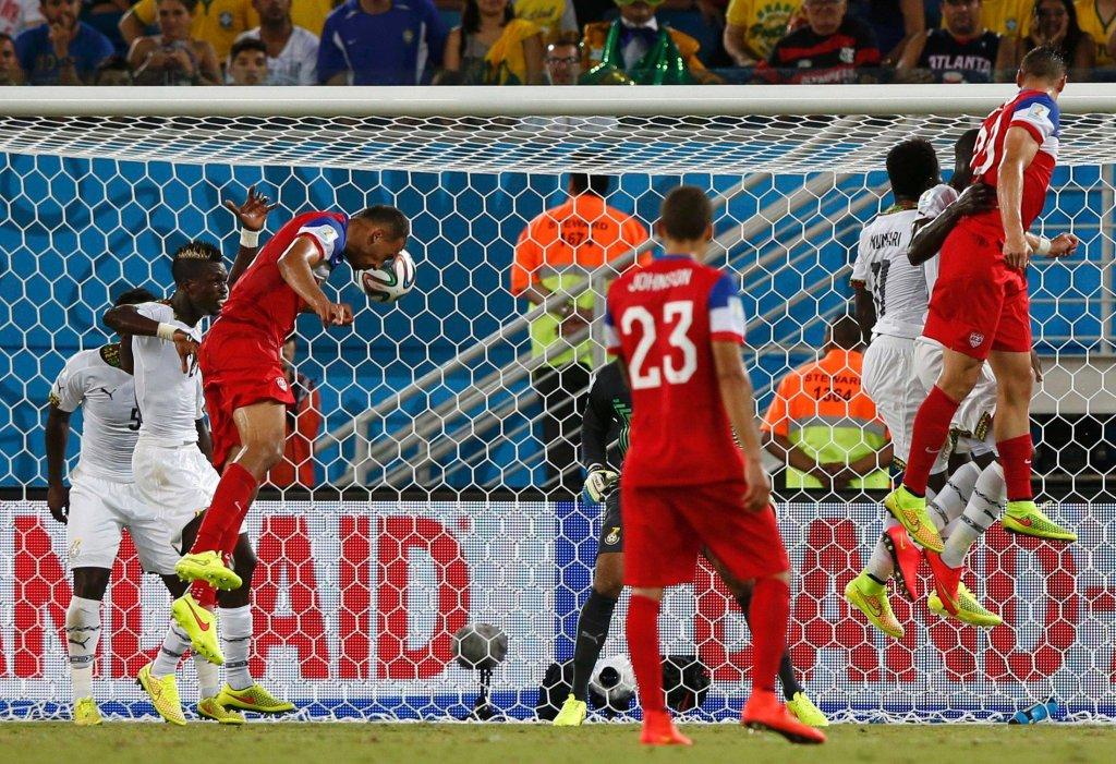 John Brooks w meczu z Ghaną