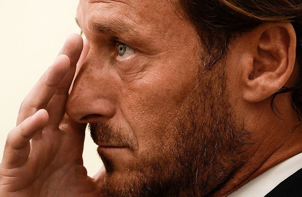 Francesco Totti żegna się z AS Romą