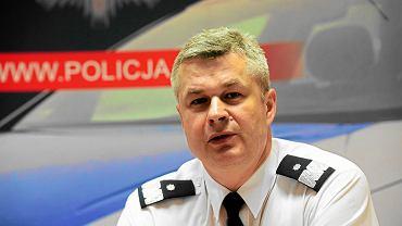 Komendant główny policji Marek Działoszynski