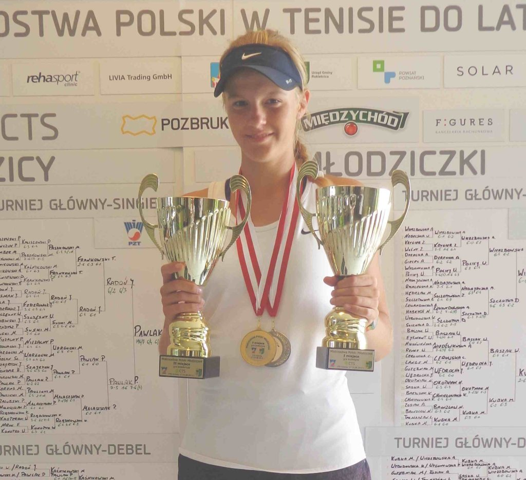 Martyna Kubka i jej mistrzowskie trofea