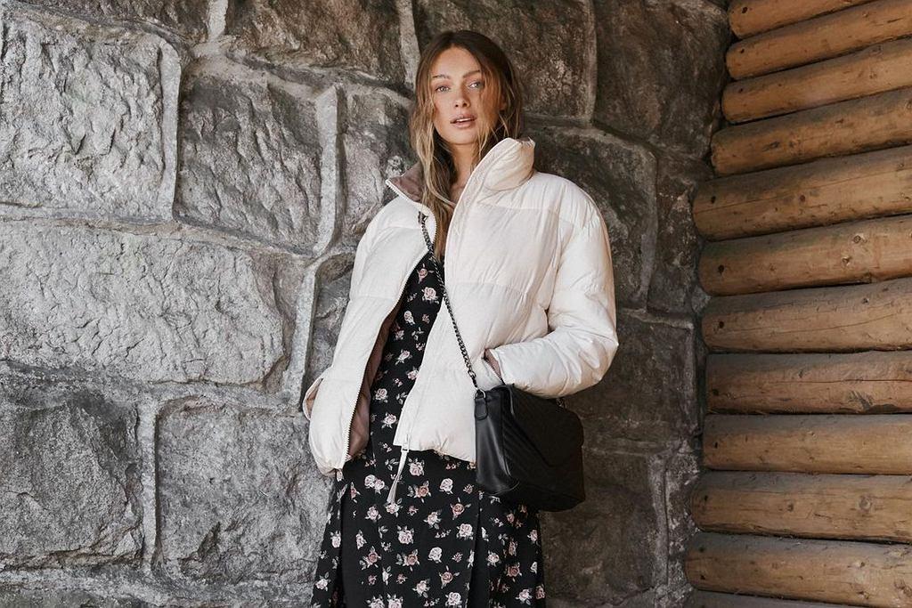 Pikowana kurtka z Sinsay