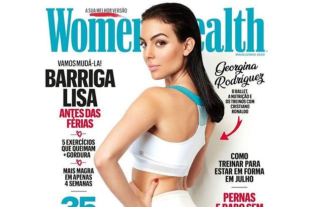 """Georgina Rodriguez na okładce portugalskiego """"Women's Health"""". Figura robi wrażenie"""
