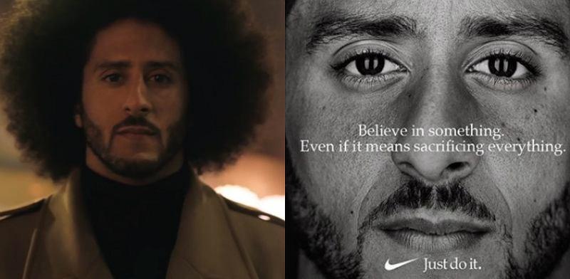 Colin Kaepernic twarzą Nike. Fani protestują, a koncern notuje wzrost sprzedaży o 31%