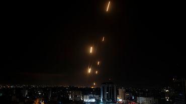 Rakiety wystrzelone z Gazy / zdjęcie ilustracyjne