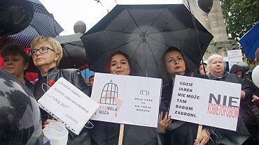 Strajk Kobiet-Czarny Protest w Zielonej Górze