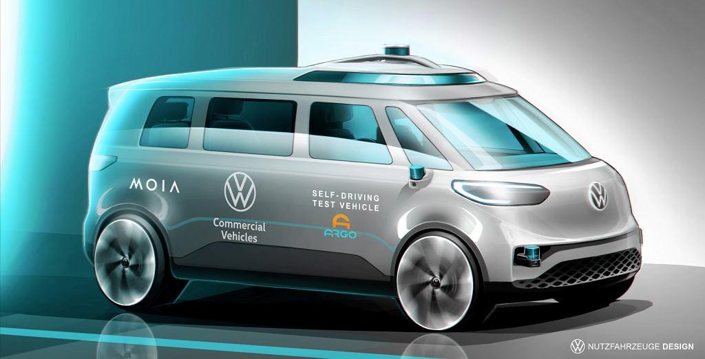 Autonomiczny Volkswagen ID.BUZZ