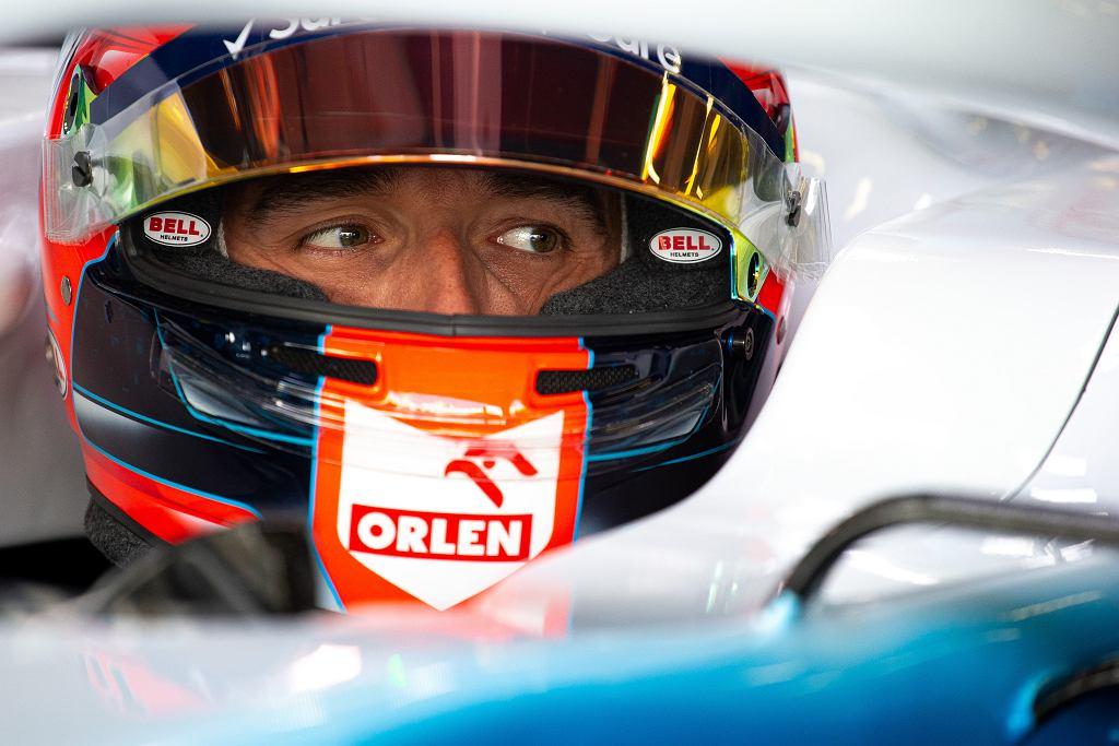 Robert Kubica podczas Grand Prix Wielkiej Brytanii