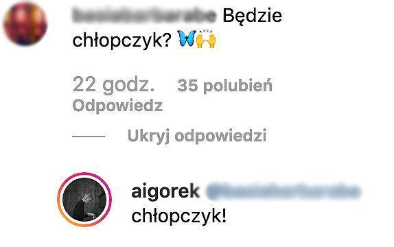 Igor Herbut zdradził piec dziecka