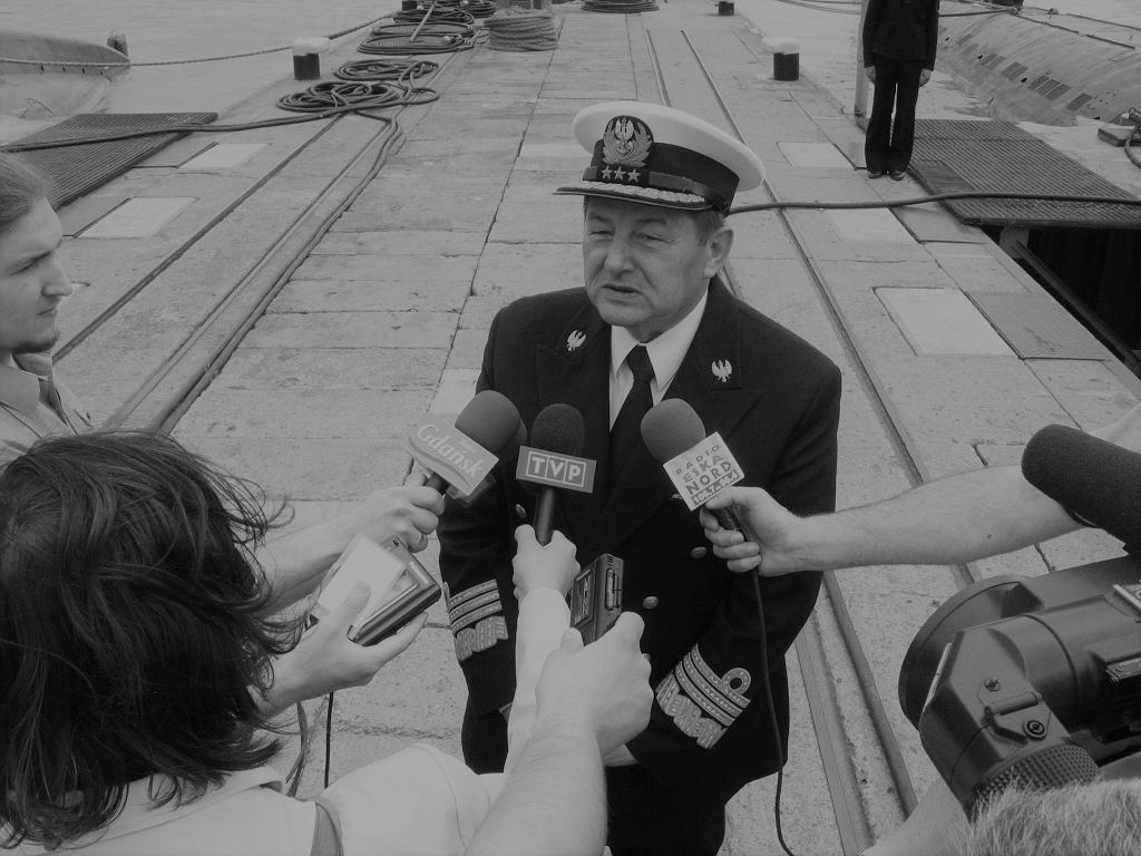 Nie żyje admirał Ryszard Łukasik, były dowódca Marynarki Wojennej RP