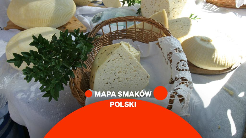 Mapa Smaków Polski - ser koryciński