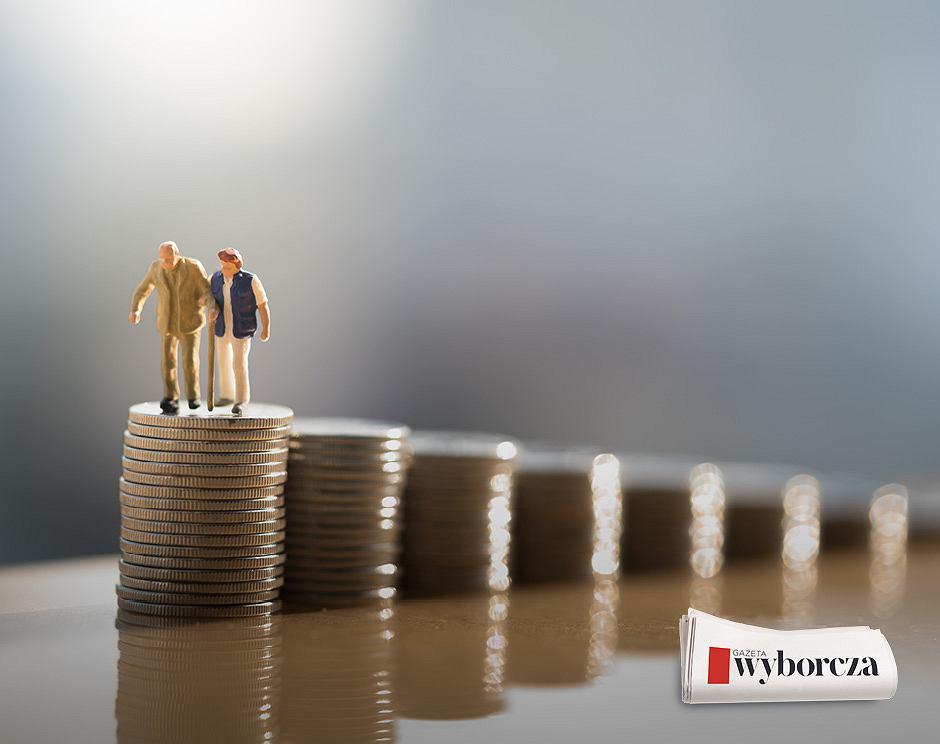 Podwyżki dla emerytów