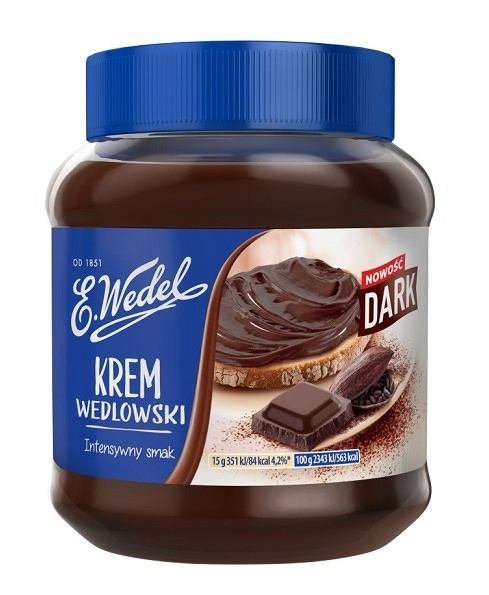 E.Wedel Krem Dark 350 g, 10,99 zł