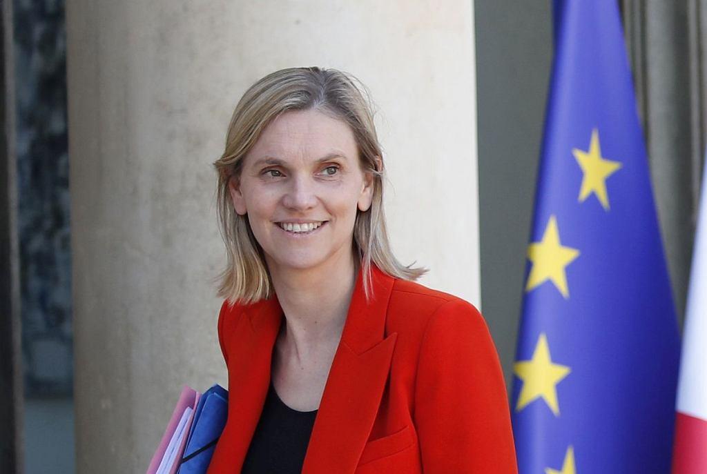 Minister Agnes Pannier-Runacher zapomniała maseczki na uroczystości 14 lipca