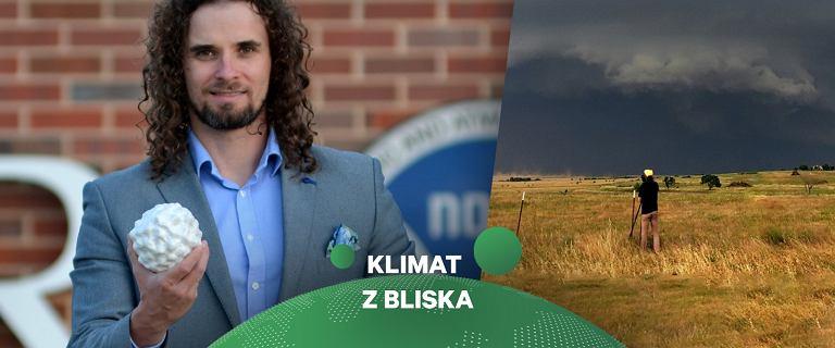 Mateusz Taszarek: burze w ocieplającym się klimacie mogą być częstsze, ale mniej intensywne