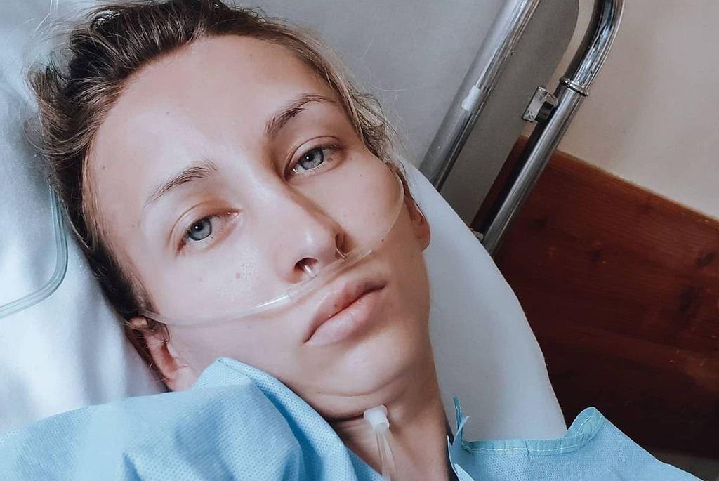 Liubov Miruk trafiła na SOR - przeszła operację
