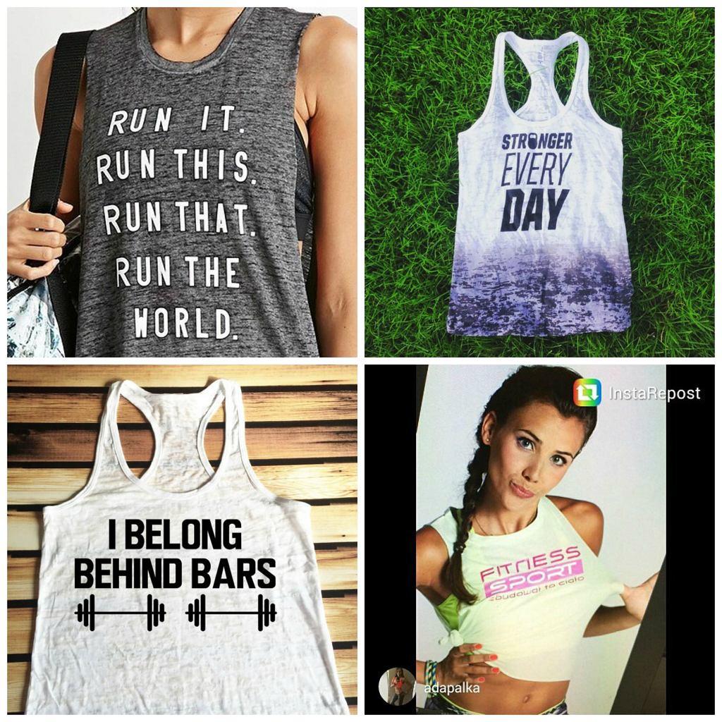 koszulki na fitness