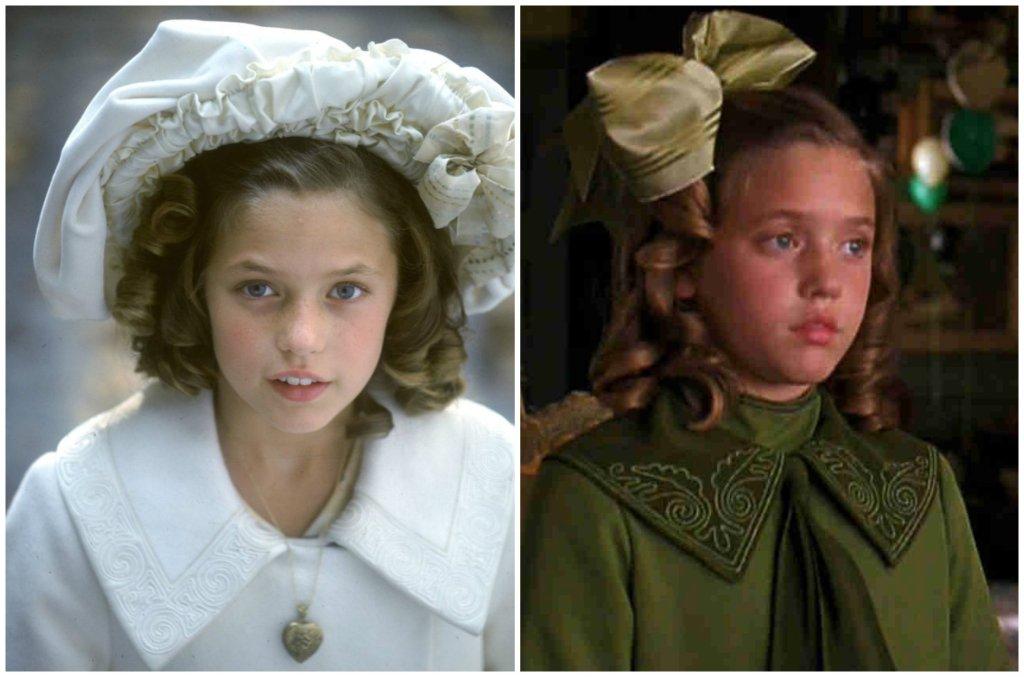 Liesel Pritzker Simmons (jako aktorka posługiwała się pseudonimem Liesel Matthews) w 1995 roku zagrała główną bohaterkę, Sarę w