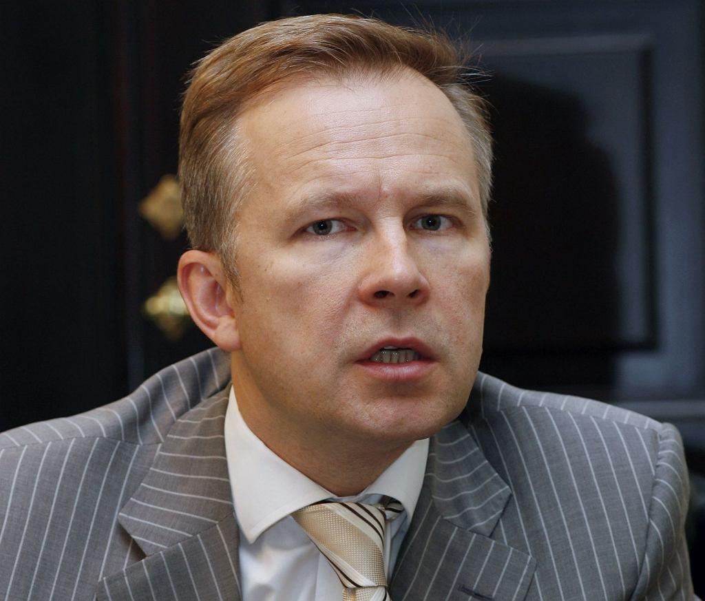 Ilmars Rimsevics - prezes łotewskiego banku centralnego
