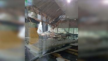 Zawalił się dach hali w Poznaniu