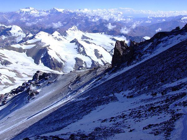 Górskie szczyty Ameryki Południowej