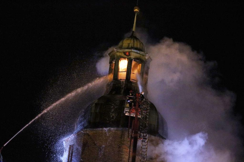 Pożar gorzowskiej katedry