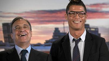 Florentino Perez i Cristiano Ronaldo