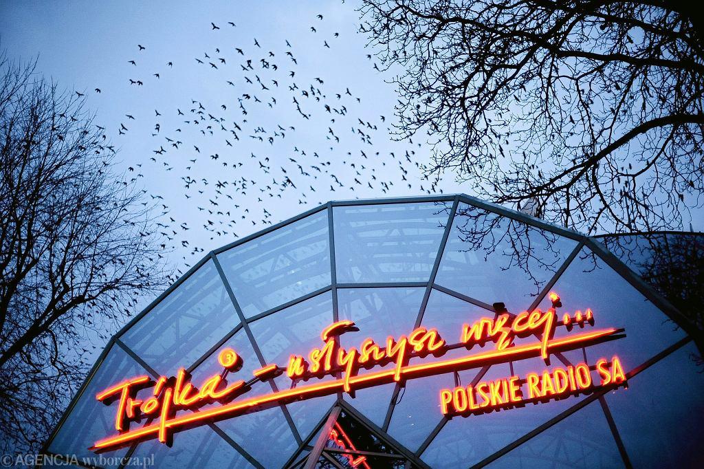 Siedziba 'Trójki' na ul. Myśliwieckiej w Warszawie