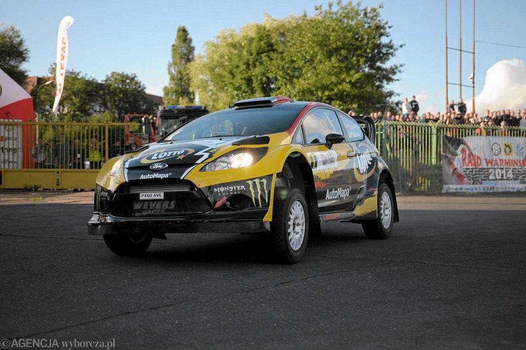 Krzysztof Hołowczyc (ford fiesta WRC)