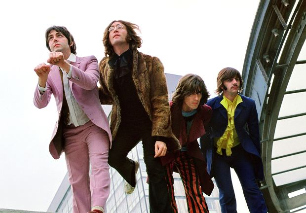 The Beatles w Londynie w 1968 roku. Od lewej: Paul McCartney, John Lennon, George Harrison i Ringo Starr