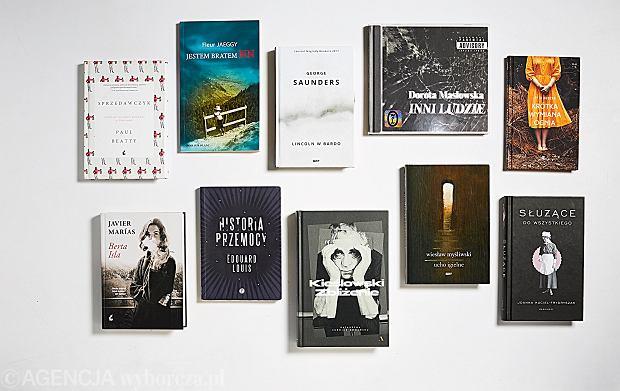 10 książek 2018 według redakcji dwumiesięcznika 'Książki'