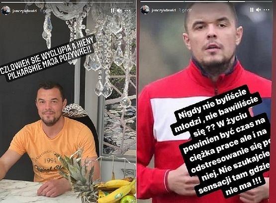 Dawid Janczyk na Instagramie