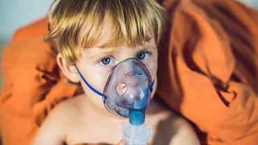 Chrupka u dziecka - pomocne będą inhalacje