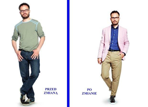 """Metamorfozy: Grzegorz zmienił swój wygląd razem z """"Logo"""""""