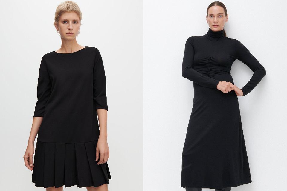 Czarne sukienki na jesień