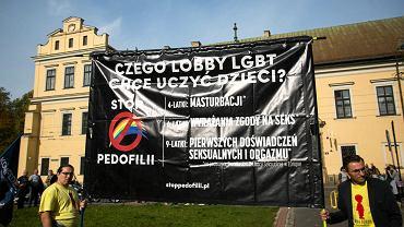 Konferencja prasowa Konfederacji na temat projektu Stop Pedofilii