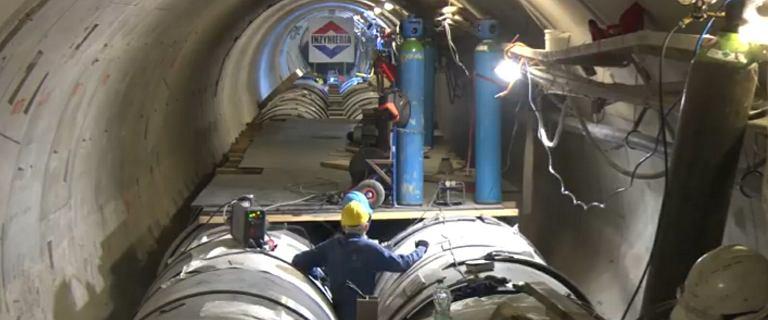 11 metrów pod ziemią. MPWiK pokazało, jak przebiegają prace naprawcze kolektorów