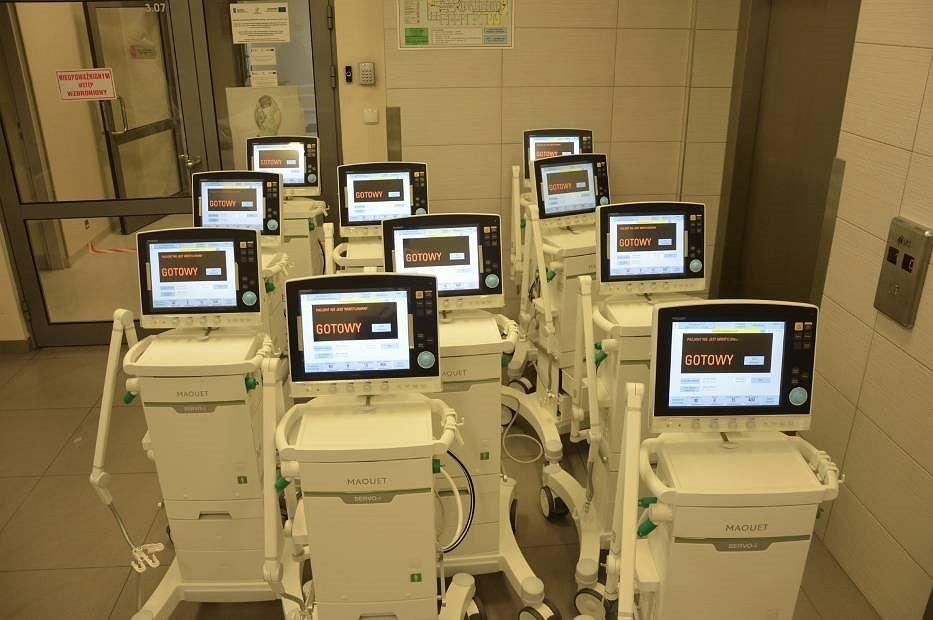 Nowe respiratory w szpitalu w Myszkowie