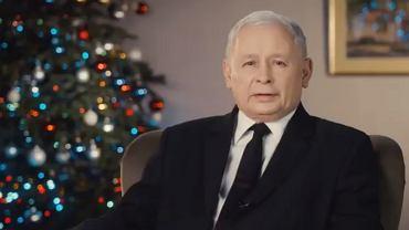 Prezes PiS Jarosław Kaczyński składa życzenia świąteczne