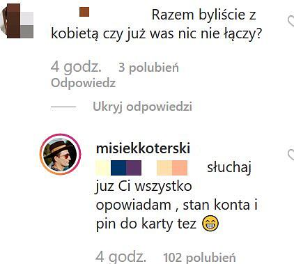 Misiek Koterski odpowiada fance