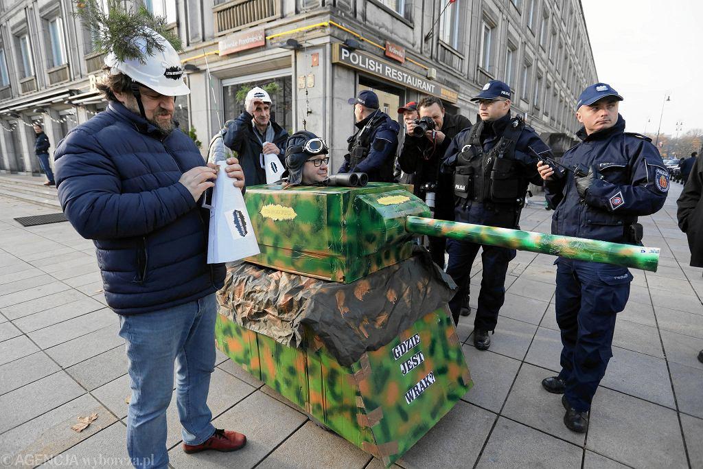 Lotna Brygada na obchodach rocznicy katastrofy smoleńskiej