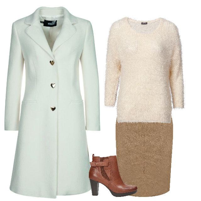 płaszcza Zalando, sweterk C&A, spódnica Taranko