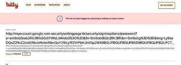 Fałszywa domena Google