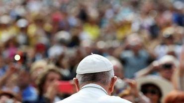 Papież Franciszek - audiencja generalna w Watykanie 1 czerwca 2016 r.