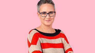 Agnieszka Stein, autorka 'Podcastu rodzicielskiego'.